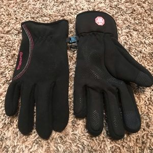 Nwot black gloves